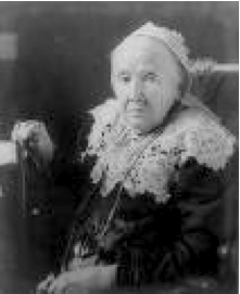 Julia Ward Howe (1819 -1910)