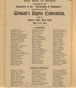 womens rights convention