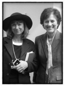 "Former Congresswoman Elizabeth Holtzman, who said; ""with admiration for a terrific performance""."