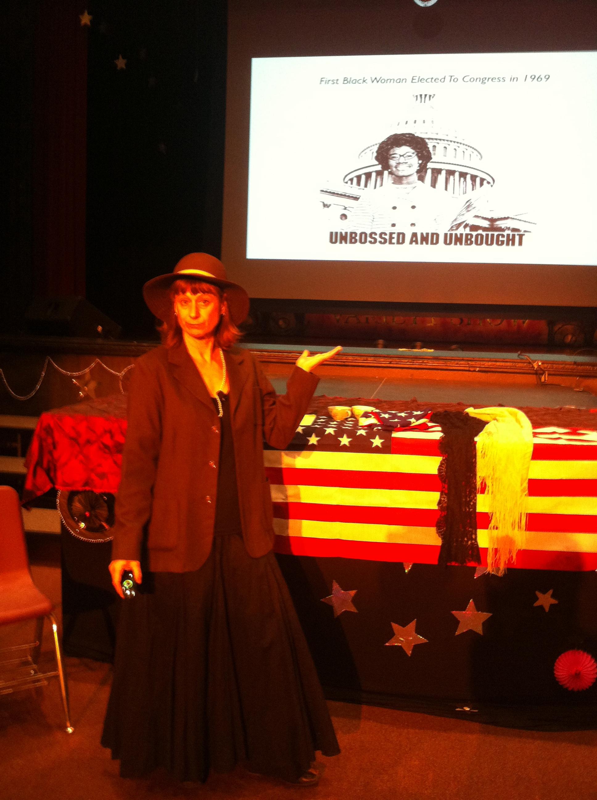 El Rodeo Middle School-Shirley Chisholm slide