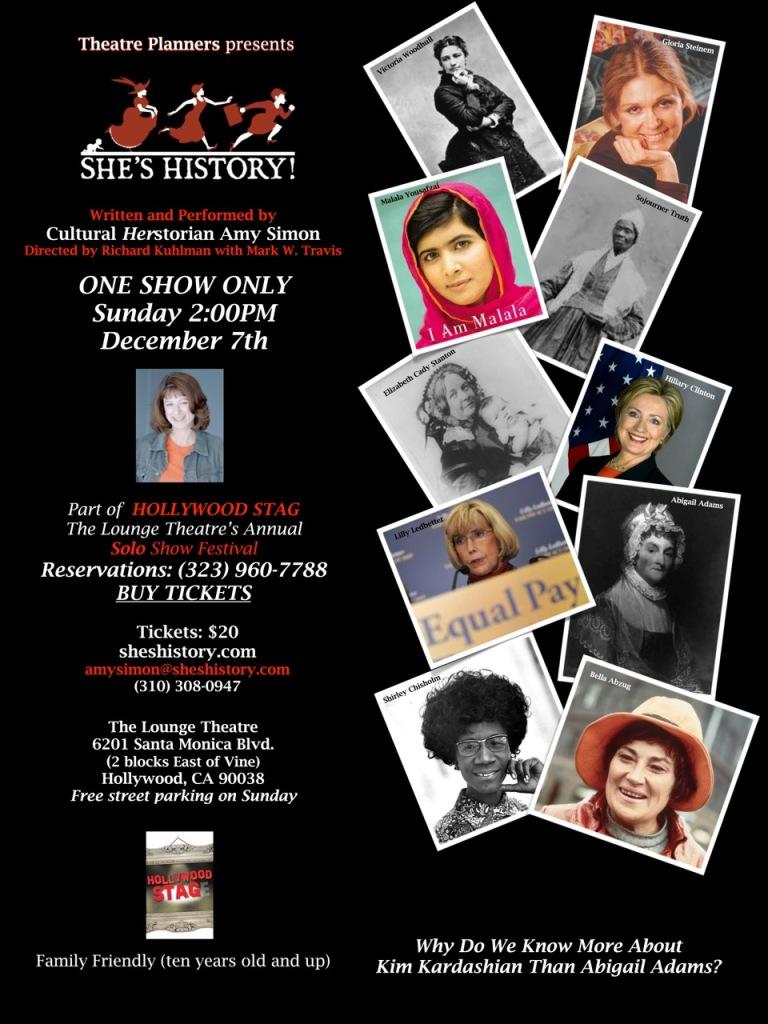 December 17, 2014 show flyer