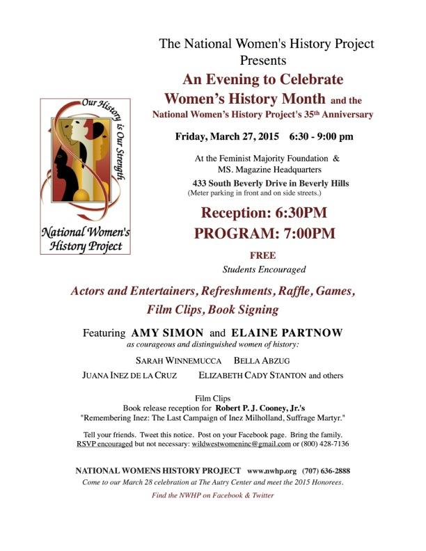 NWHP feminist majority event