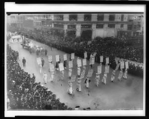 President Wilson's Inauguration parade