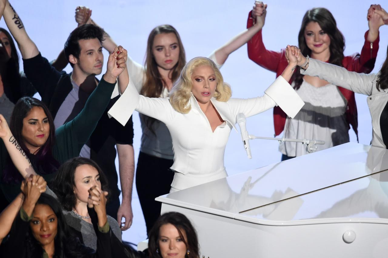 Lady Gaga and Campus Sexual Assault Survivors