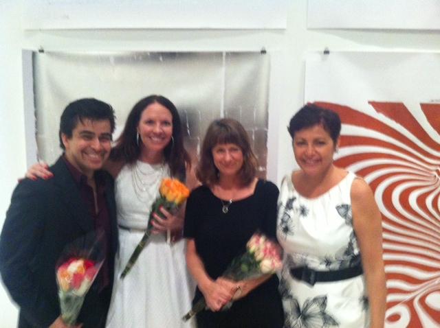 Albert Bonilla, Stacey Robertson, Amy Simon and Director Norma Ramos